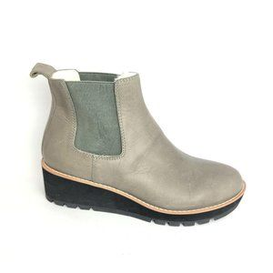NEW Eileen Fisher Cozy Shearling Chelsea Boot 7
